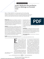 Effect of an Electronic Medication Reconciliation Application and Process Redesign on Potential Adverse Drug Events