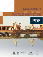 Managing cultural world heritage