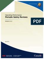 REGDOC 2 3 3 Periodic Safety Reviews Eng