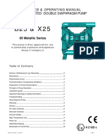 Diaphragm Pump Manual(B25 X25 Metallic Manual)