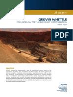 2017 Geovia Whitepaper Pseudoflow
