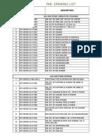 New Drawing List (Str.)