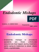 Endodontic Mishaps
