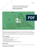 Advanced Windows Server 2012 R2 Services (MCSAMCSE) Configuring Diploma Visio Learning