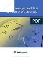 Time Management for Tech Professionals