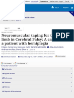 Neuromuscular Taping for the Upper Limb in Cerebral Palsy