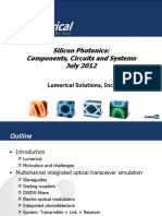 Lumerical Siliconphotonics Components Webinar