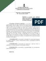 Minuta Portaria Matrícula Online 2018