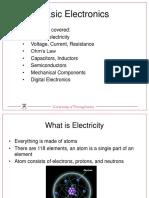 Basic Electronics Presentation v2