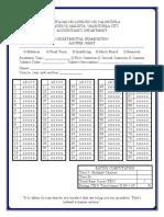Answer Sheet 2.0
