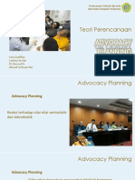 Advocacy Planning