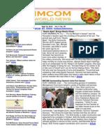 10 September 2010 IMCOM World Newsletter