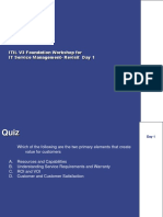Exam Preparation -ITIL v3 Quint Day 1.Ppt