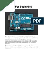 Arduino for Beginners REV2