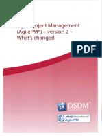 AgilePM v2 - What's Changed [12.2014]