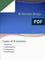 b lactams