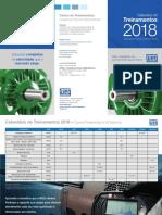 Calendário de Treinamentos ASTEC 2018