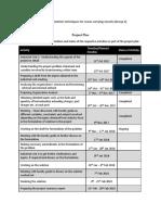IIP Group 3 Project Plan