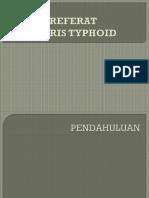 Referat Febris Typhoid