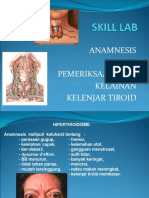 Lab Skill Anamnesis Thyroid Blok 14