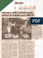 Acordo 2008-2009 ( Matérias )