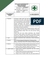 8.2.1.7 SOP Evaluasi Ketersediaan Obat Thd Formularium