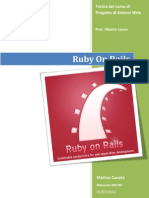 Approfondimento Ruby on Rails