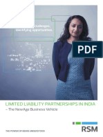 Limited Liability Partnerships in India - The Newage Business Vehicle