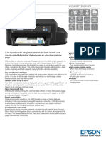 Epson L605 A4 Colour MultiFunction Ink Tank System Printer