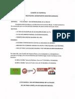 COMUNICADO COMITE DIA INTERNACIONAL DE LA MUJER