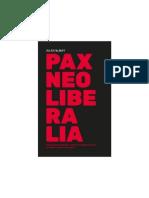 Jules Falquet Pax Neoliberalia