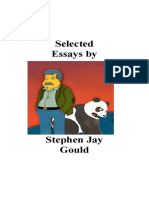 Stephen Jay Gould .  Selected Essays.pdf