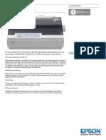 Epson LX 300 II Datasheet