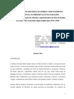PEREIRA JR. Clodomir Barros. A Conservação dos espaços verdes como elemento fundamental na preservação da paisagem.pdf