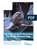 The Power of Social Networking for Women Research