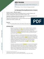 Evidence Vrunning Analysis