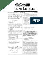 Ley Del Procedimiento Administrativo General (EL PERUANO)