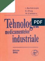 Tehnologia medicamentelor industriale