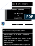 e-Business and e-Commerce -  Website basics - ICANN