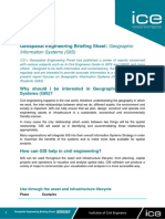Geographic Information System and Civil Engineering