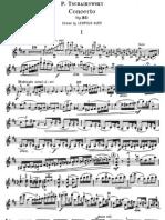 Tchaikovsky Violin Concerto Violin