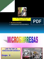 APRENDIENDO MICROEMPRESA - Dr. FREDY CARRANZA VILLA- ECONOMISTA