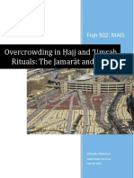 Overcrowding in Ḥajj and 'Umrah Rituals