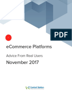 ECommerce Platforms Report From IT Central Station 2017-11-18