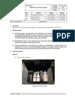 PRO-In-029 Control de Agua Blanda v-03