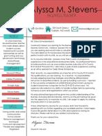 design teacher cover letter