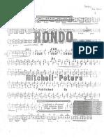 Rondo for Four Tom Toms