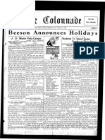 The Colonnade - February 2, 1932