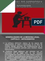 Maestria Penal III Sem. Generalidades de La Medicina Forense