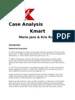 Kmart Case Analysis